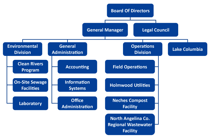 ANRA Organizational Structure